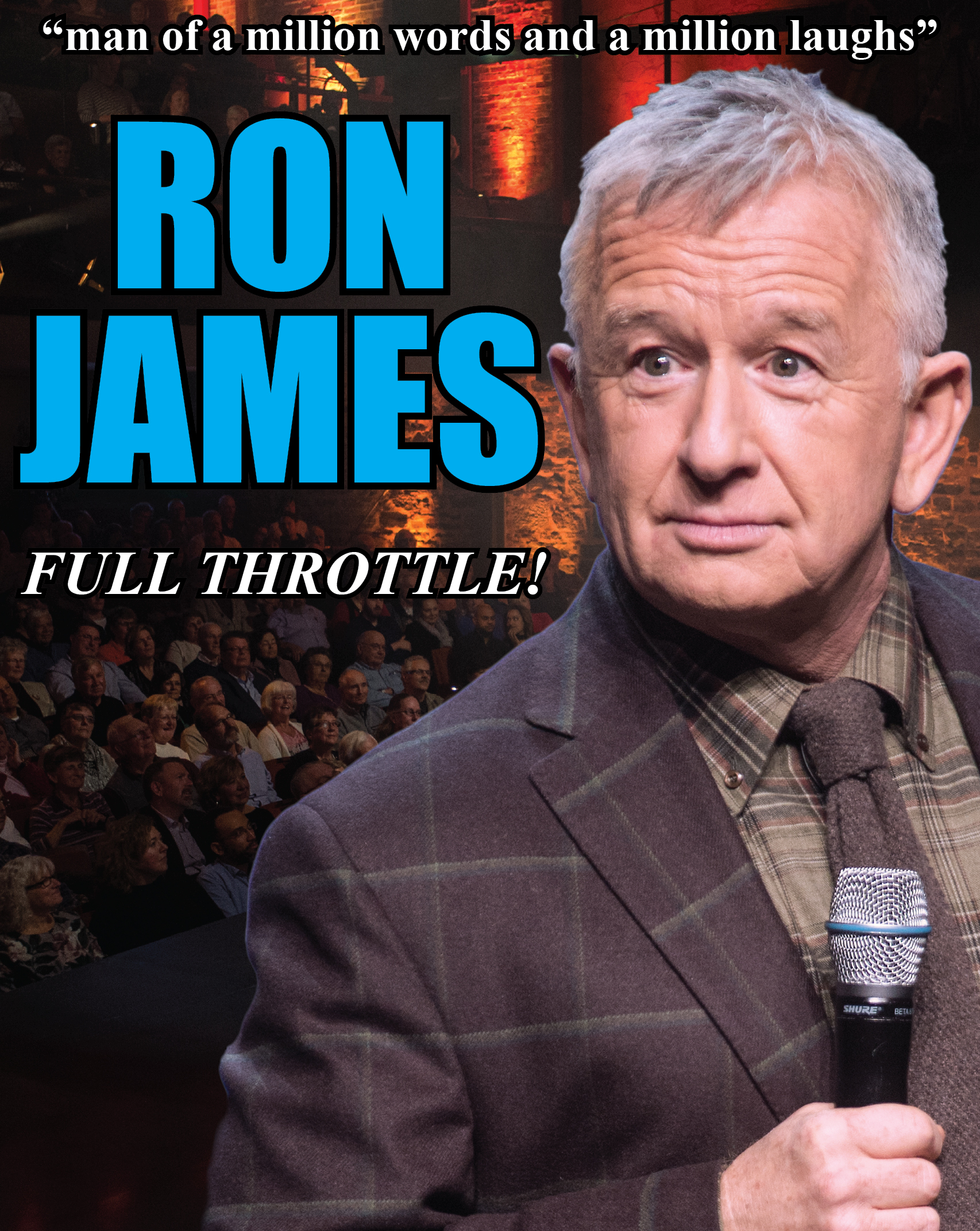 RonJamesAudience  Show Title